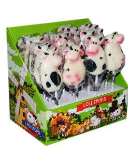 Lizaki Krowy Cows 24 szt