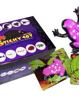Sticky Toy – Zabawki Antystresowe Żelowe Żabki