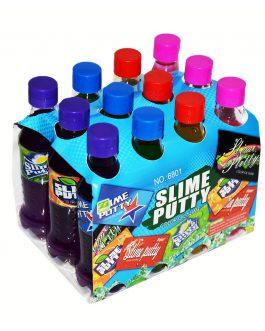 Slime W Butelkach Slime Putty 12 Szt.