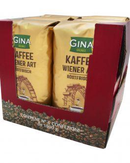 Gina Wiedeńska Kawa Ziarnista Kaffee Wiener Art 1kg