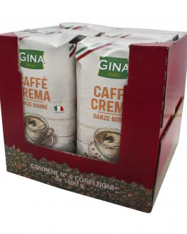 Gina Kawa Ziarnista Cafe Crema 1kg