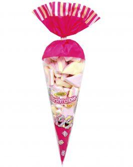 WOOGIE Pianki Marshmallows Mix Rożek 200g